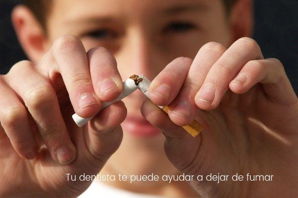 Tu dentista te puede ayudar a dejar de fumar