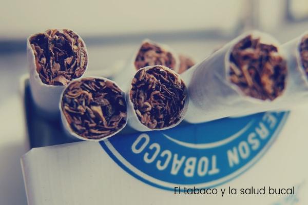 ¿Cómo afecta el consumo de tabaco a la salud bucal?